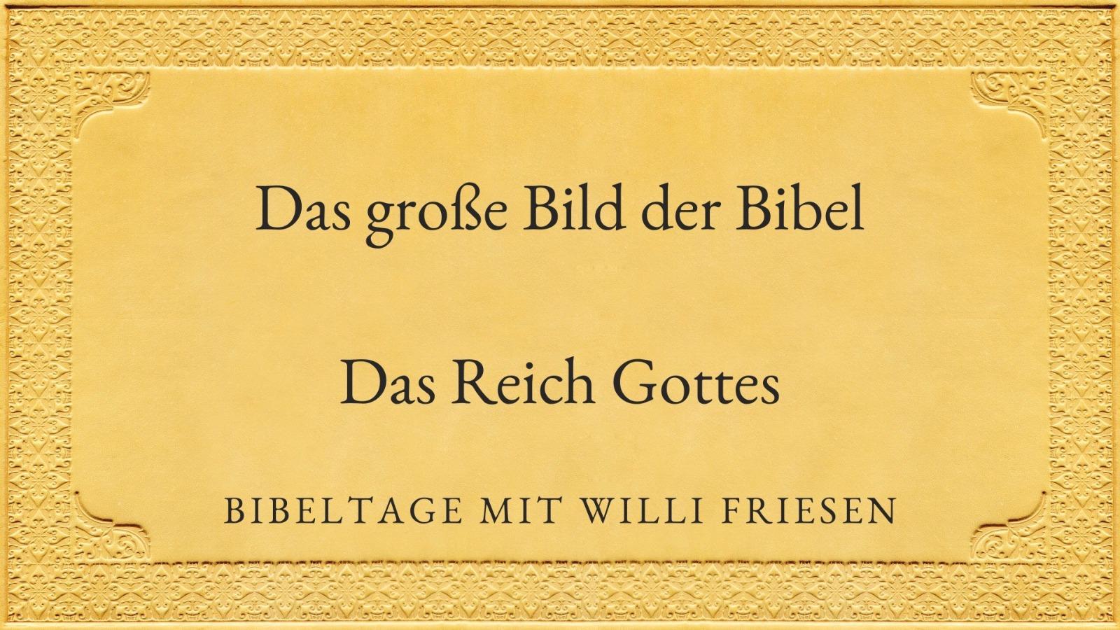 Das große Bild der Bibel